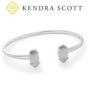 Kendra Scott Edie Two-Stone Bangle Bracelet